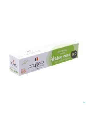 Argiletz Tandpasta Klei Natuur Aloe Vera Bio 75ml2486801-20