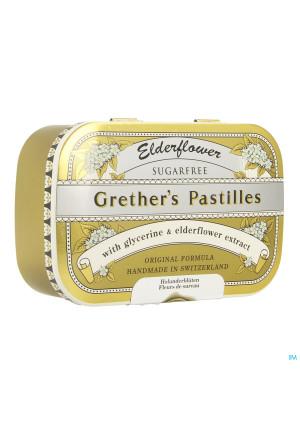 Grethers Elderflower Vlierbes-vruchtensap Zs 110g2502839-20
