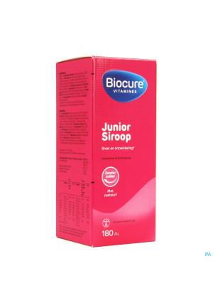 Biocure Junior Siroop Suikervrij 180ml2542926-20