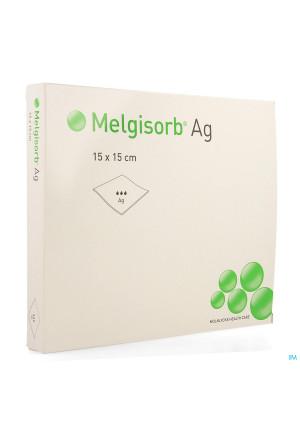 Melgisorb Ag Kp Ster 15x15cm 10 2561502602647-20
