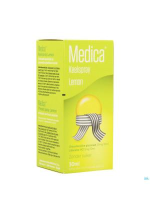 Medica Keelspray Lemon 30ml2639151-20