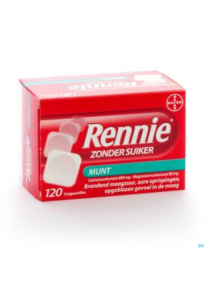 Rennie Zonder Suiker/sans Sucre Pastilles 1202642569-20