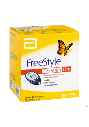 FreeStyle Freedom Lite Startkit Clinical Pathway2647543-20