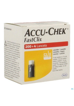 Accu Chek Mobile Fastclix Lancet 34x6 52084910012676815-20