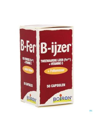 B-ijzer Nutridoses Caps 50 Boiron2685832-20