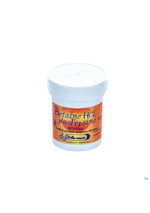 Betaine Hcl + Pesine V-caps 60 Deba2718559-20