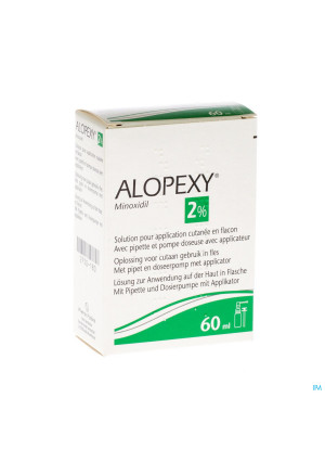 Alopexy 2 % Liquid Fl Plast Pipet 1x60ml2750180-20
