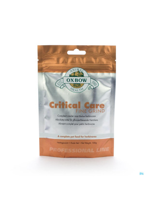 CRITICAL CARE FINE GRIND VETER 100 G2768026-20
