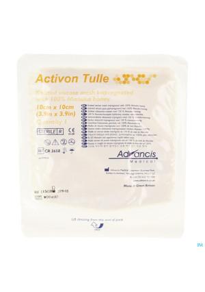 Activon Tulle Verband N/adh 10x10cm 12789873-20