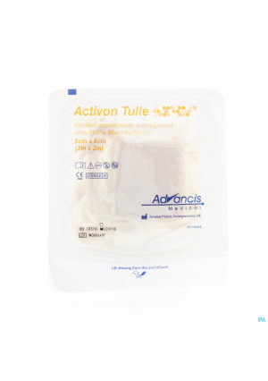 Activon Tulle Verband N/adh 5x 5cm 12789923-20