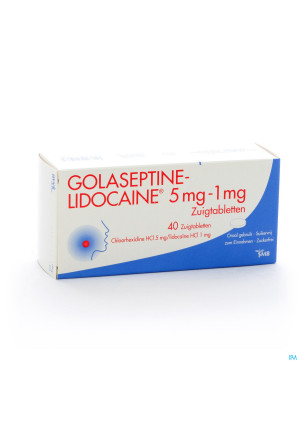 GOLASEPTINE-LIDOCAINE 40 ZUIGTABL2815298-20