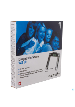 MICROLIFE WEEGSCHAAL DIAGN WS80 1 ST2880995-20