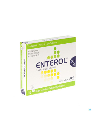 Enterol 250mg Caps Harde Dur S/blister 10x250mg2882728-20