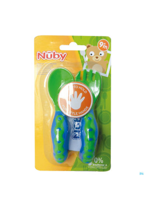 Nûby Starter Spoon and Fork 9m+2914703-20