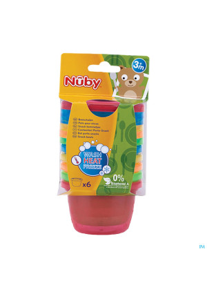 Nûby Snack Cup Set 120ml 3m+2914737-20