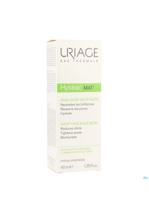 Uriage Hyseac Mat Gel Creme Tube 40ml2939239-20
