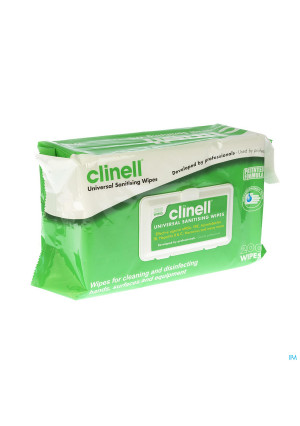 CLINELL UNIVERSEL WIPES 200 ST2951853-20