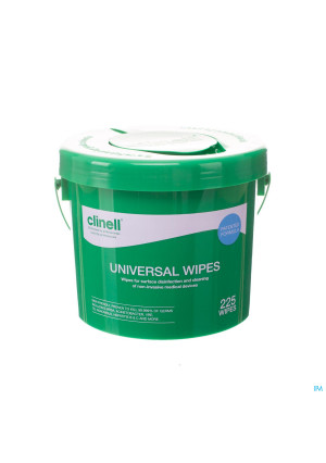 Clinell Universal Wipes Bucket 225 St2951903-20