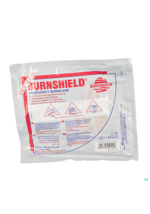 BURNSHIELD FACE MASK 20X45 CM COVARMED 12953511-20