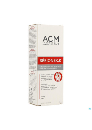 Sebionex K Creme Tube 40ml2969103-20