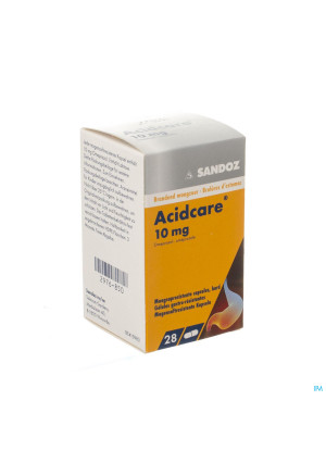 Acidcare 10mg Sandoz Caps Maagsapres 28 X 10mg2976850-20