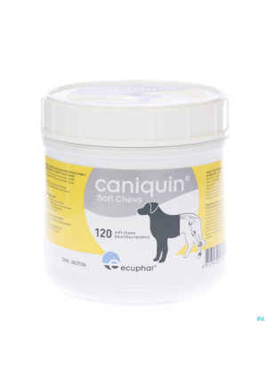 CANIQUIN HOND VETER SOFT CHEWS 120 ST3007036-20
