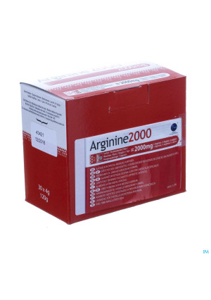 Arginine 2000 Pdr Zakje 30x4g3012317-20
