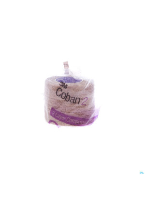 Coban 2 Compressiezwachtel 5cm X 2,7m 32 Rol3019494-20