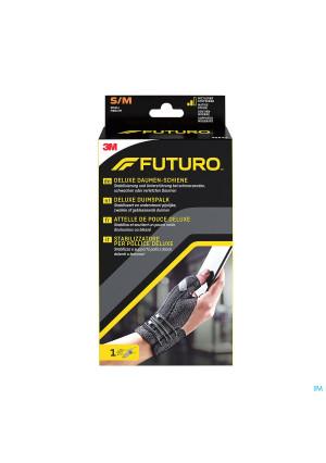 45843dab Futuro Deluxe Duimspalk Zwart, S/m (rond De Pols 12,7 Cm – 16,5 Cm)3050010-20