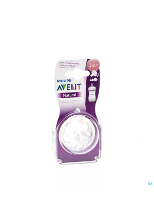 AVENT NATURAL ZUIGSP VARIABEL 2 ST3058583-20