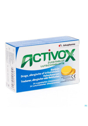 Activox Keelpijn Zuigtabletten 243065646-20