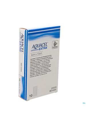 Aquacel Extra Verb Hydrofiber+versterk. 4x10cm 103090982-20