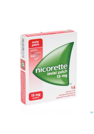 Nicorette Invisi 15mg Patch 143091600-20