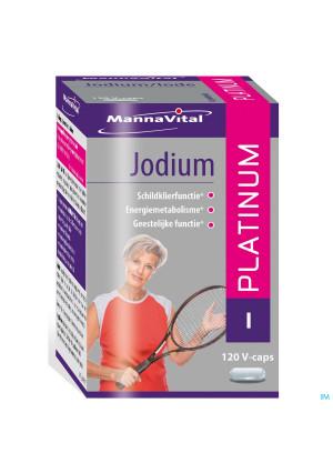 Mannavital Jodium Platinum V-caps 1203115953-20