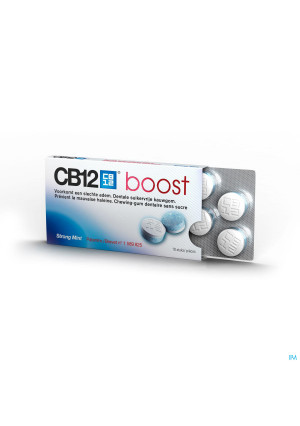 CB12 BOOST STRONG MINT KAUWGOM 10 ST3119468-20