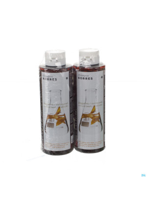Korres Shampoo Sunfl and Tea 1+1 250ml Pr3131240-20