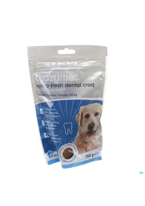 Orozyme Bucco-fresh Dental Croq Dog >10kg 150g3142726-20