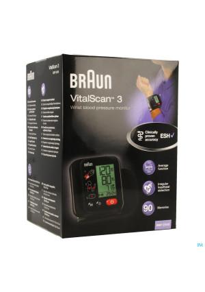 BRAUN BLOEDDRUKMETER BBP2200 VITALSC 3 13143302-20