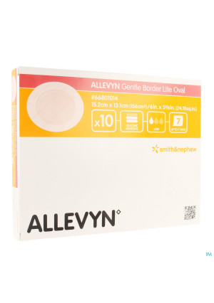 Allevyn Gentle Border Lite Ovaal Large 10 668010143144839-20