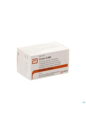 Creon 5000 Maagsapresist Granulaat Fl 20g3173960-20