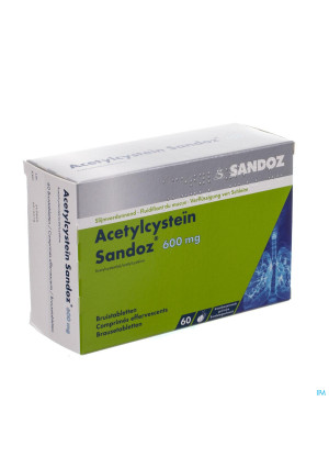 Acetylcystein Sandoz 600mg Bruistabl 603174166-20