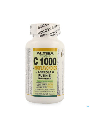 Altisa C 1000+bioflavonoid 350mg Cplx Tr Tabl 903194305-20