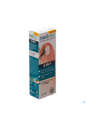 NAILNER BRUSH 2 IN1 5 ML3195617-20