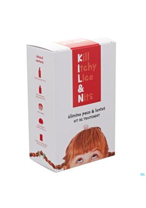 Killandn Schuim Kit A/luizen-neten 100ml3210341-20