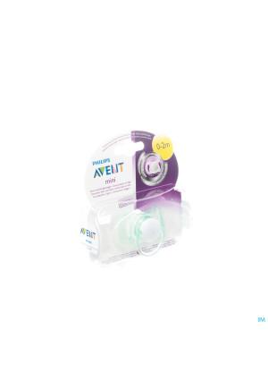 Avent Mini Fopspeen Unisex 0 2m Single Pack3212362-20