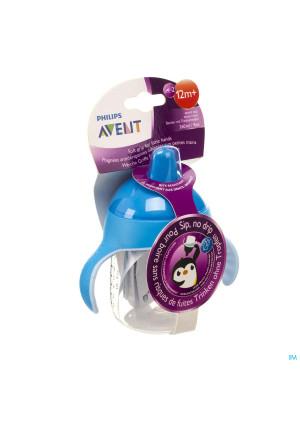 Avent Lekvrije Beker Pinguin Blauw 260ml3212990-20