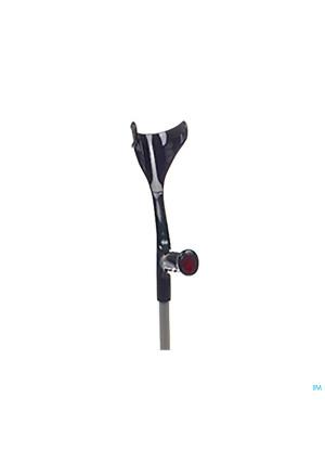 Bota Kruk Alu Model 1 Volw Max.140kg Zwart 13234267-20