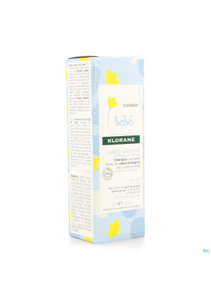 Klorane Bb Voedende Cr Cold Cream Tube 40ml3237450-20