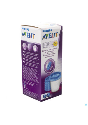 Avent Via Natural Set Bewaarbeker 180ml3246840-20