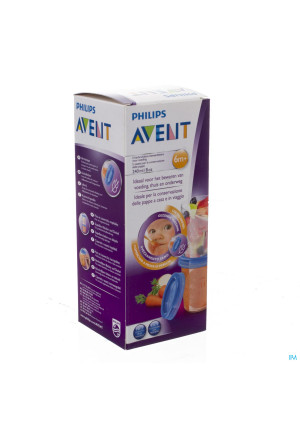 Avent Via Natural Set Bewaarbeker 240ml3246873-20